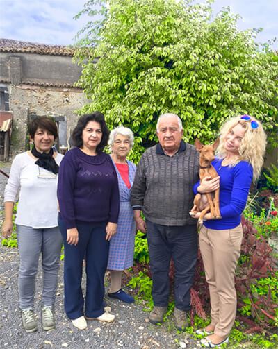 DEL GELSO BIANCO famiglia